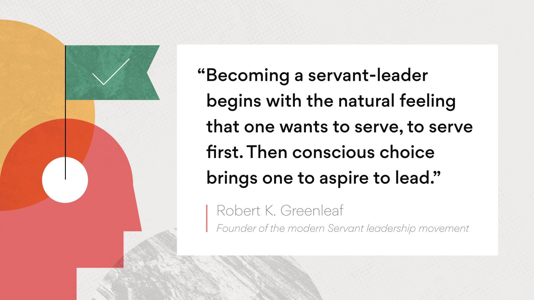 Origin of servant leadership