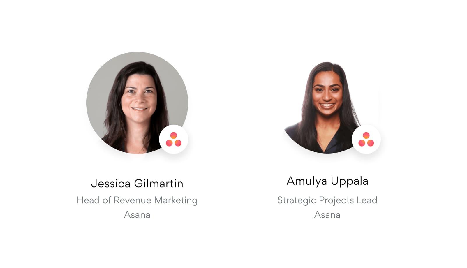 Asana を使って EMEA 地域のマーケティングキャンペーンを成功に導く方法 (案内: Jessica Gilmartin、Amuyla Uppala)