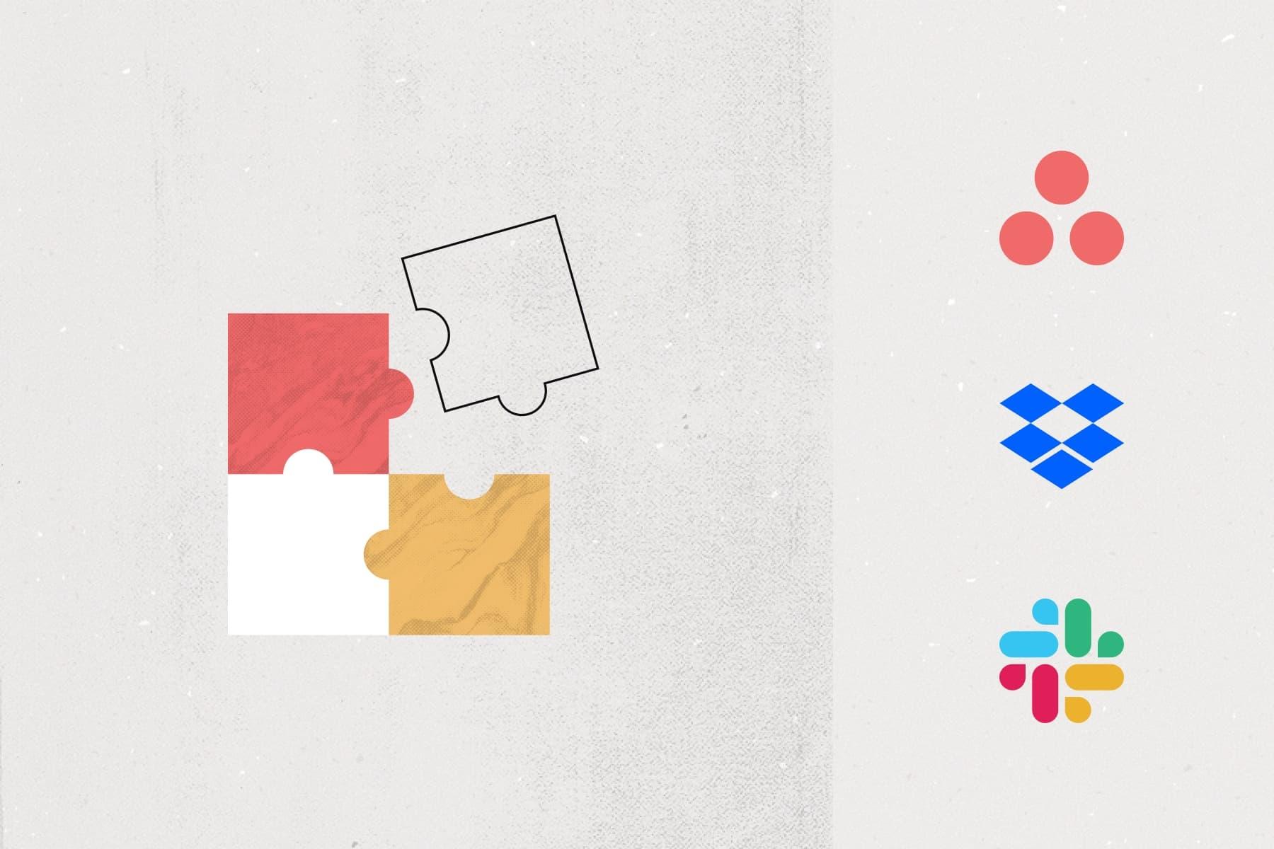 """Imagem do banner do webinário """"A empresa moderna: insights da Asana, Dropbox e Slack sobre colaboração e trabalho"""""""