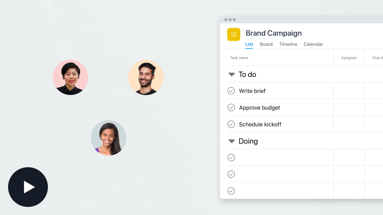 Asana Product Screenshot