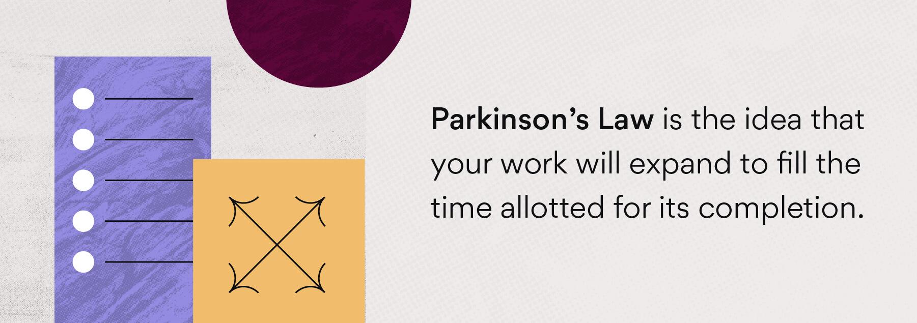 ¿Qué es la Ley de Parkinson?