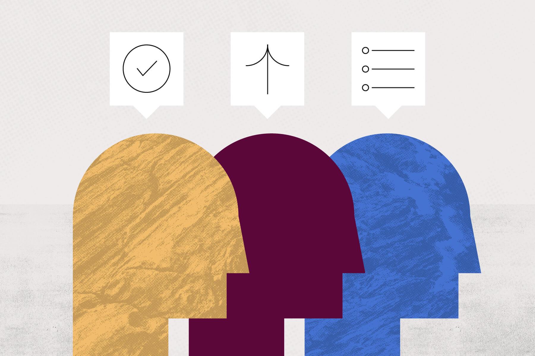 Imagem do banner do guia definitivo de produção criativa com a Asana