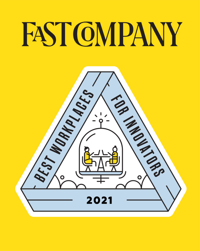 Fast Company 2021 Best Workplaces for Innovators