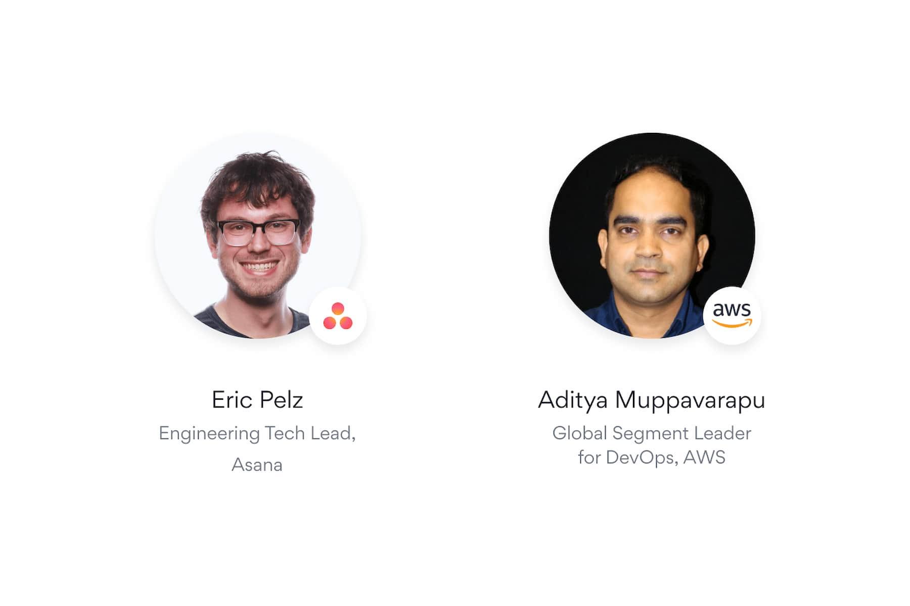 Acelere o tempo de chegada do seu produto ao mercado: uma conversa sobre colaboração entre a Asana e a AWS. O líder de engenharia da Asana, Eric Pelz, conversa com o líder global do segmento de desenvolvimento e operações da AWS, Aditya Muppavarapu.