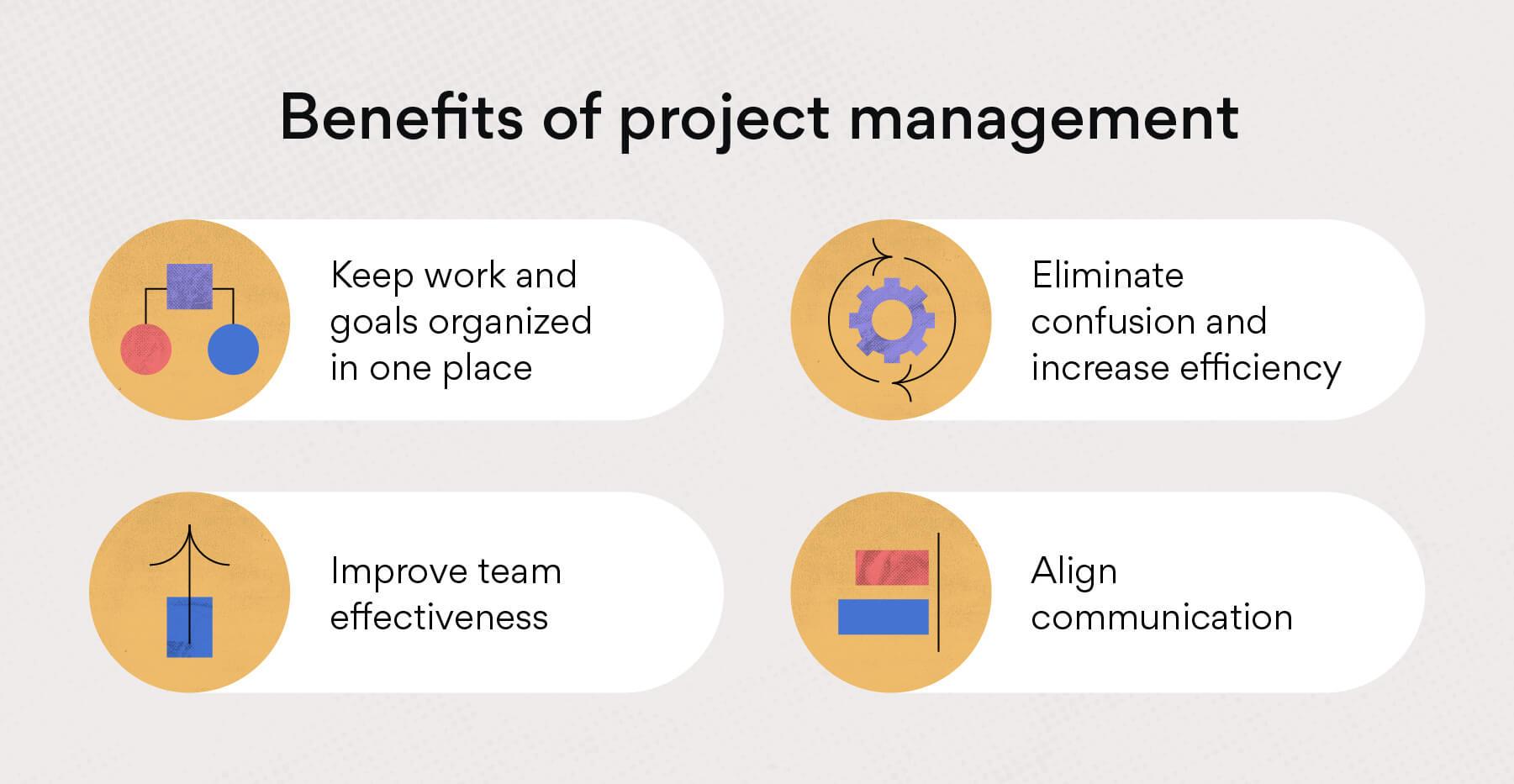 專案管理的優勢