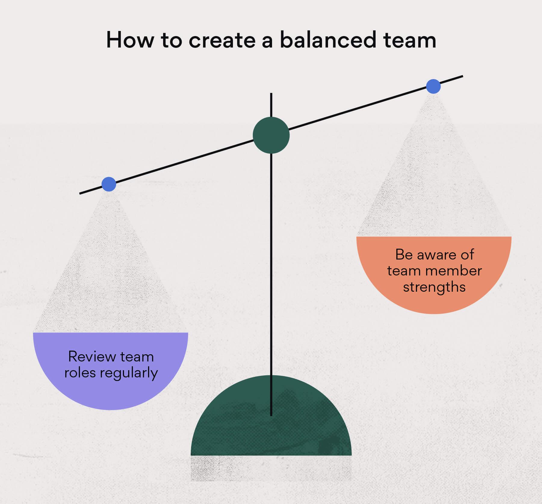 How to create a balanced team