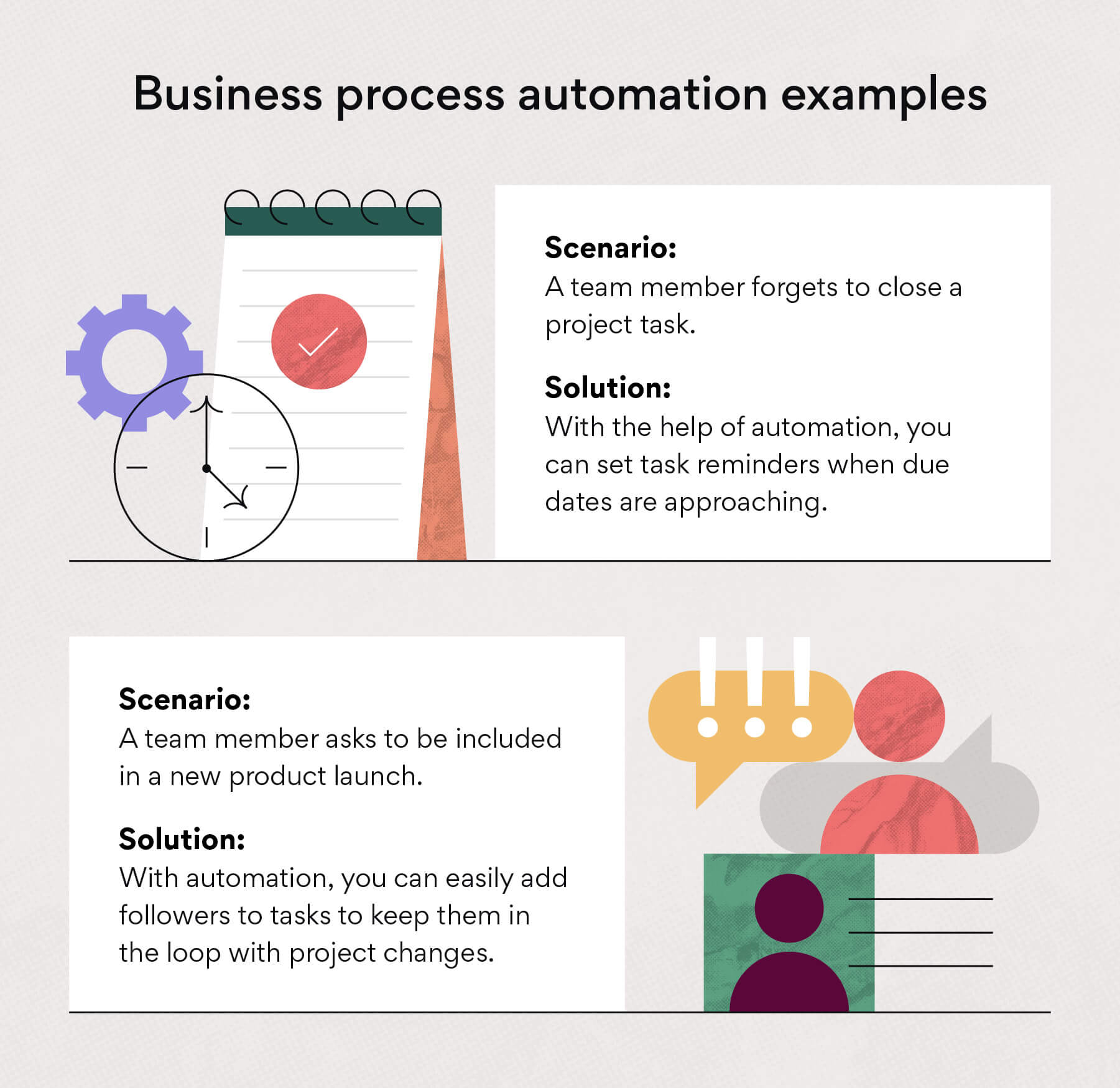 Business process automation examples