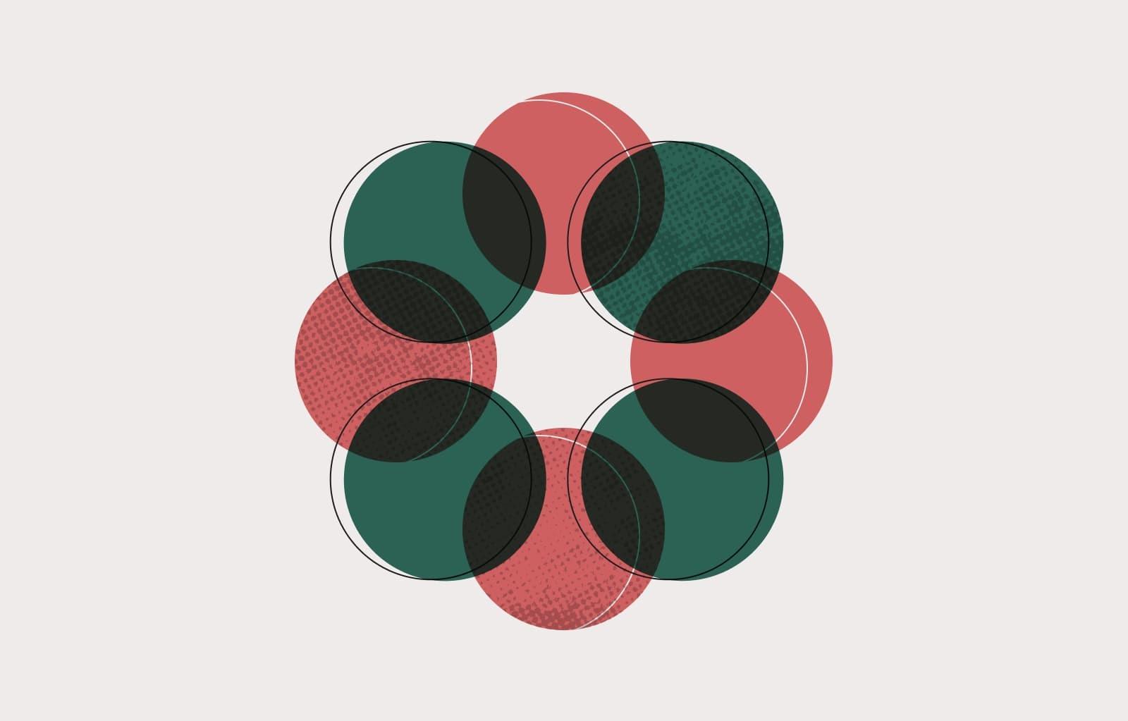 Grünes Asana-Logo
