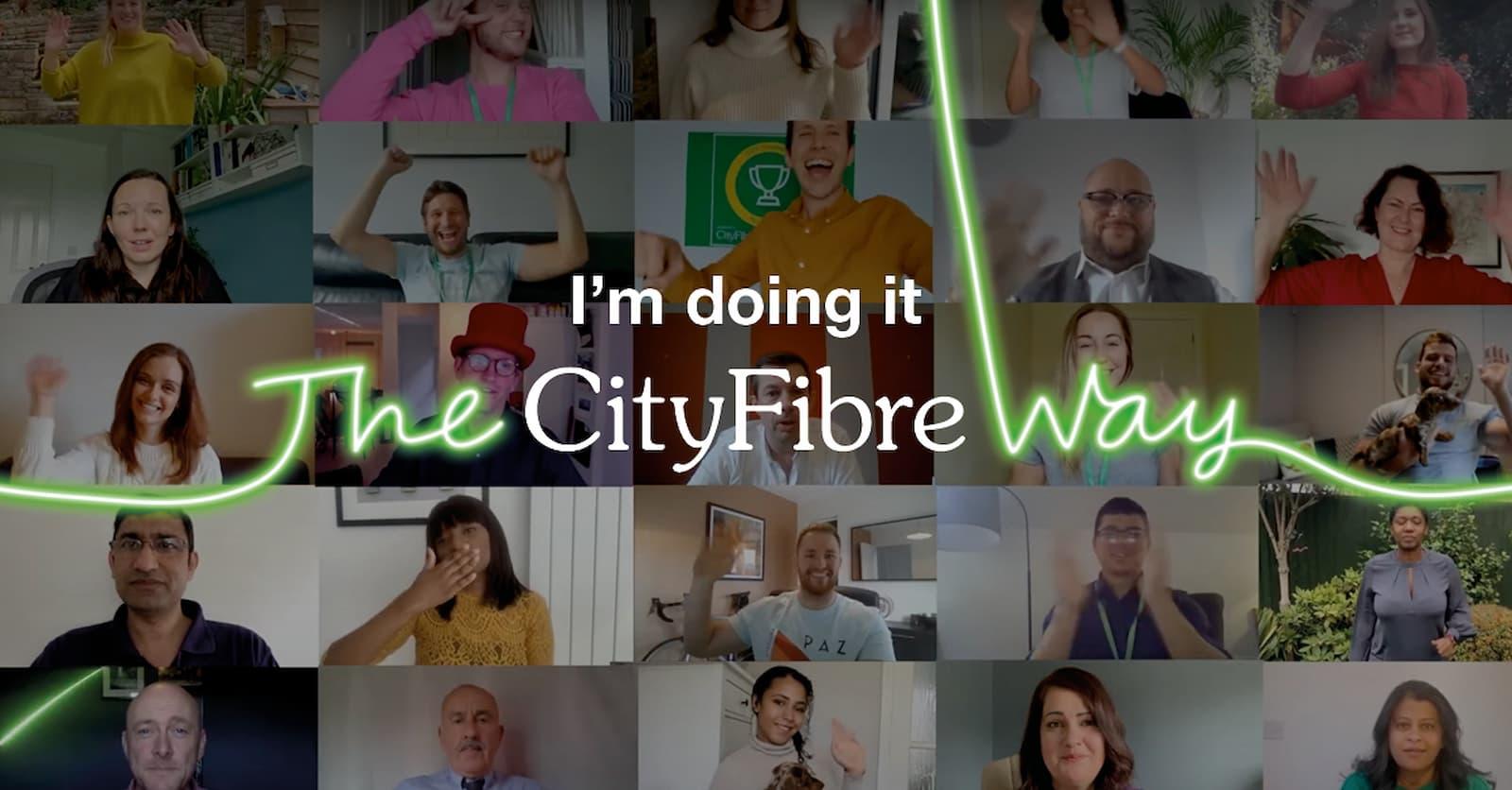 Equipe de marketing da CityFibre aumenta a visibilidade do trabalho e agiliza processos com a Asana