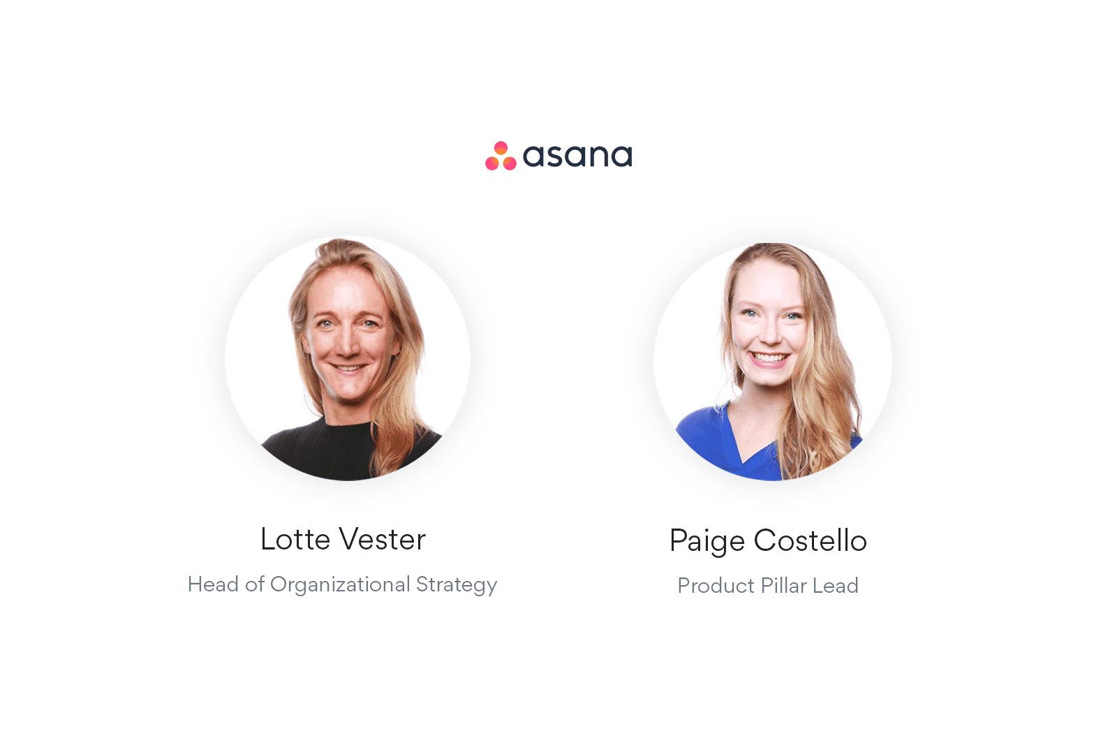 """Imagen del banner para el webinar """"Cómo se genera la alineación de la empresa gracias a los objetivos de Asana"""""""