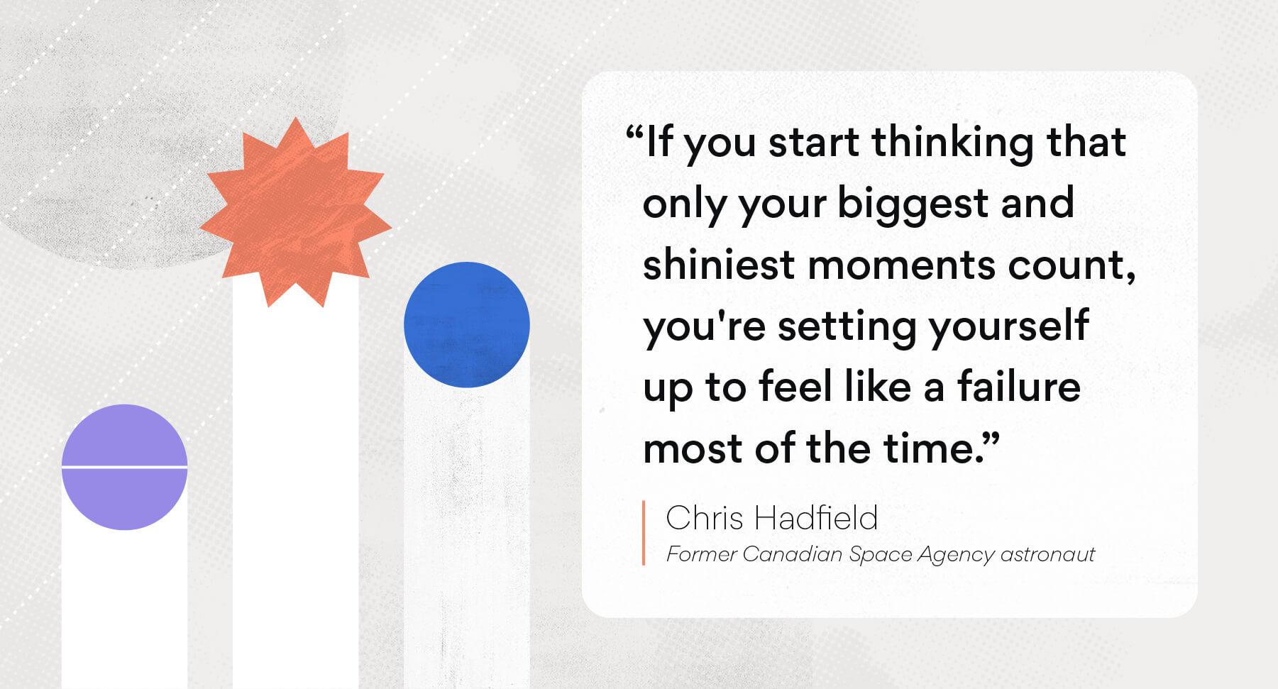 Chris Hadfield quote