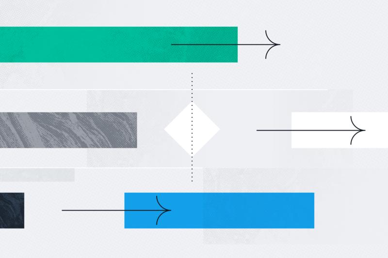 Imagem do cabeçalho do diagrama de Gantt